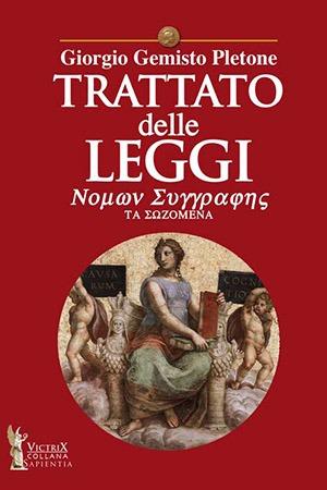 Trattato Leggi Pletone Victrix Edizioni