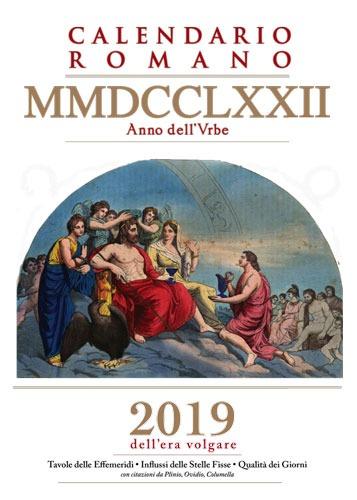 Calendario Romano.Calendario Romano Mmdcclxxii A V C 2019 E V